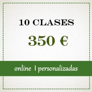 10 clases individuales