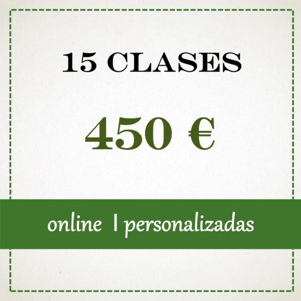 15 clases individuales